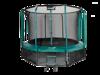 Trampolina Ogrodowa Z Wewnętrzną Siatką Jumpi Maxy Comfort 374 cm/12FT Zielona